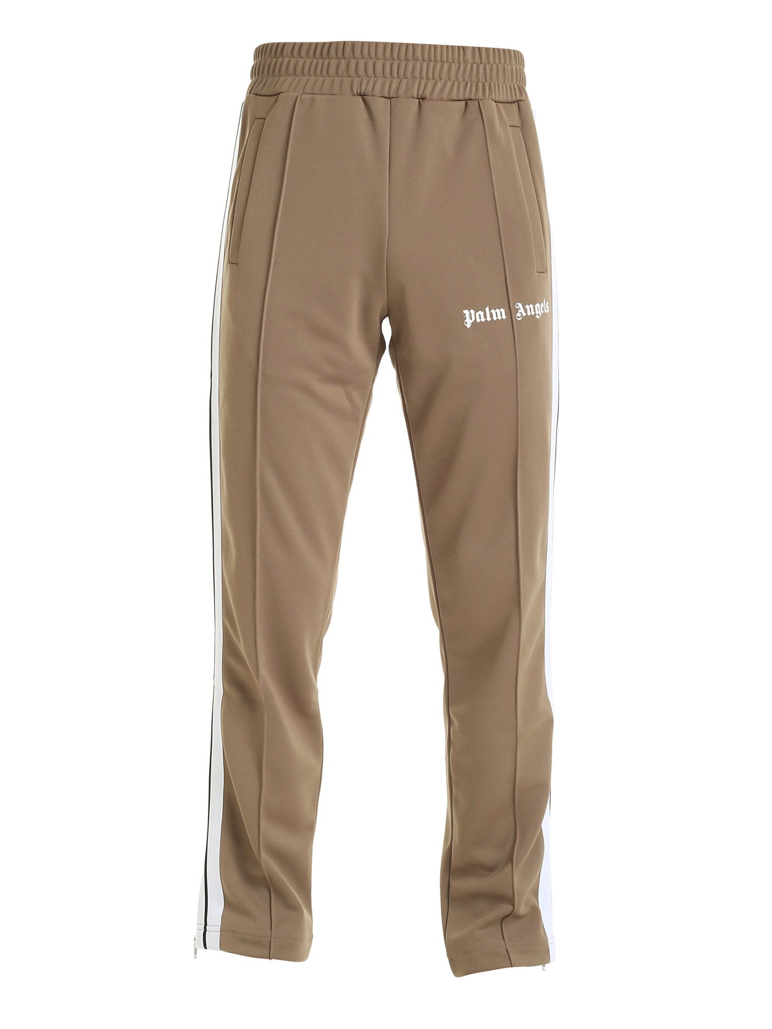 Palm Angels CLASSIC TRACK PANTS IN DOVE GREY COLOR