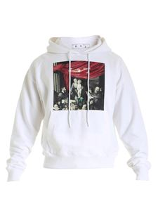 Off-White - Caravaggio Painting Over sweatshirt in white
