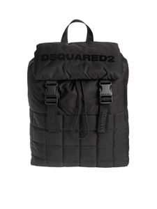 Dsquared2 - Padded backpack in black