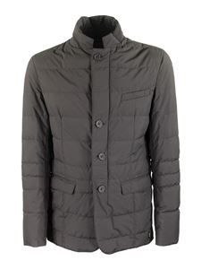 Herno - Laminar Gore-Tex®Windstopper® down jacket in grey