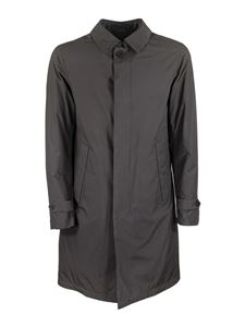 Herno - Gore-Tex® long down padding in grey