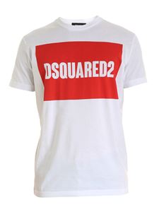 Dsquared2 - Dsquared2 T-shirt in white and red