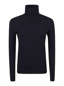 Stella McCartney - Viscose blend turtleneck in blue