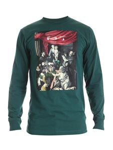 Off-White - Caravaggio Painting L /S T-shirt in green