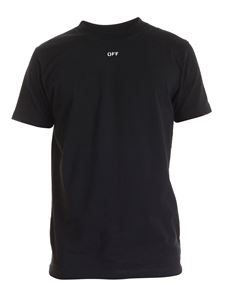 Off-White - Stencil S/S Slim T-shirt in black