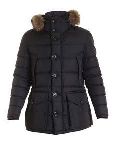 Moncler - Cluny down jacket in black