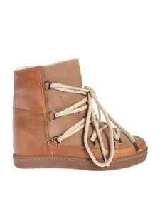 Isabel Marant - Nowless ankle boots in Camel color