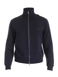 Moncler - Zip sweatshirt in dark blue