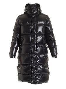 Moncler - Hanoverian long down jacket in black