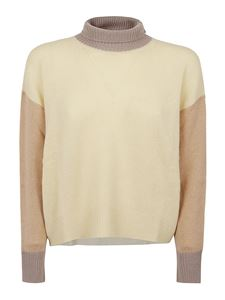 Marni - Color block cashmere turtleneck