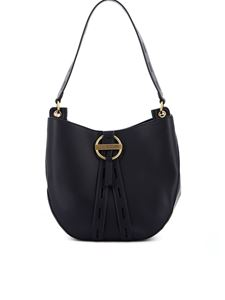 Love Moschino - Hobo bag in black with golden logo