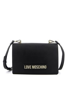 Love Moschino - Shoulder bag in black with logo lettering