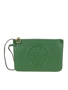 Tory Burch - Perry pouch in green