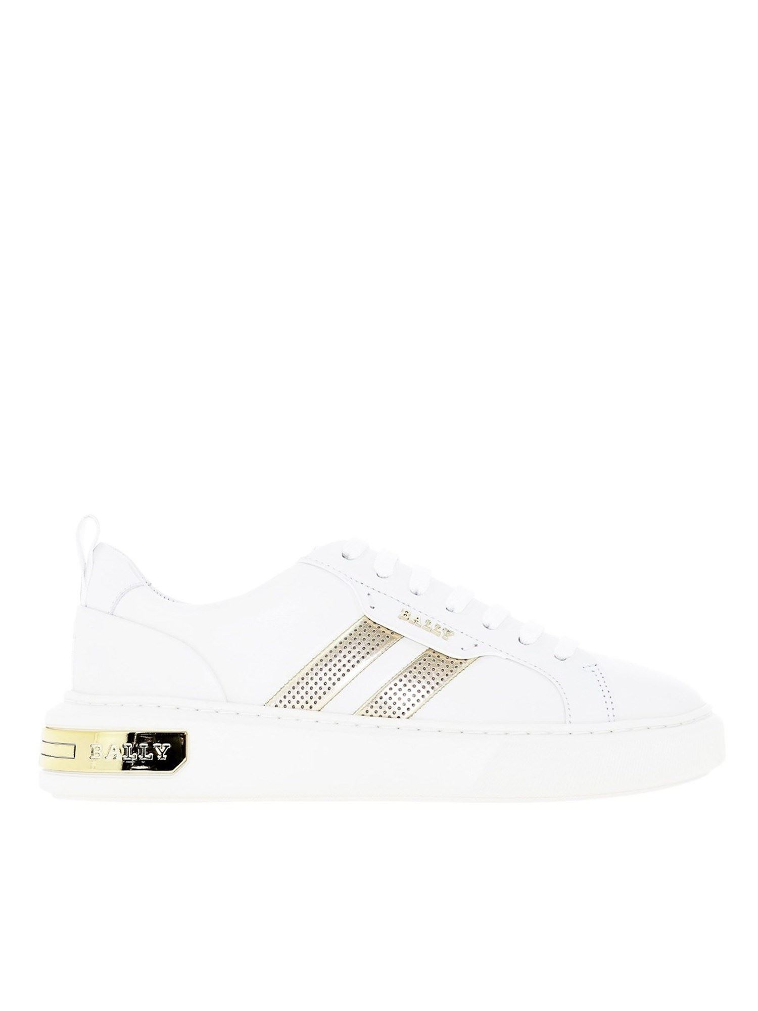Bally MAXIM SNEAKERS IN WHITE
