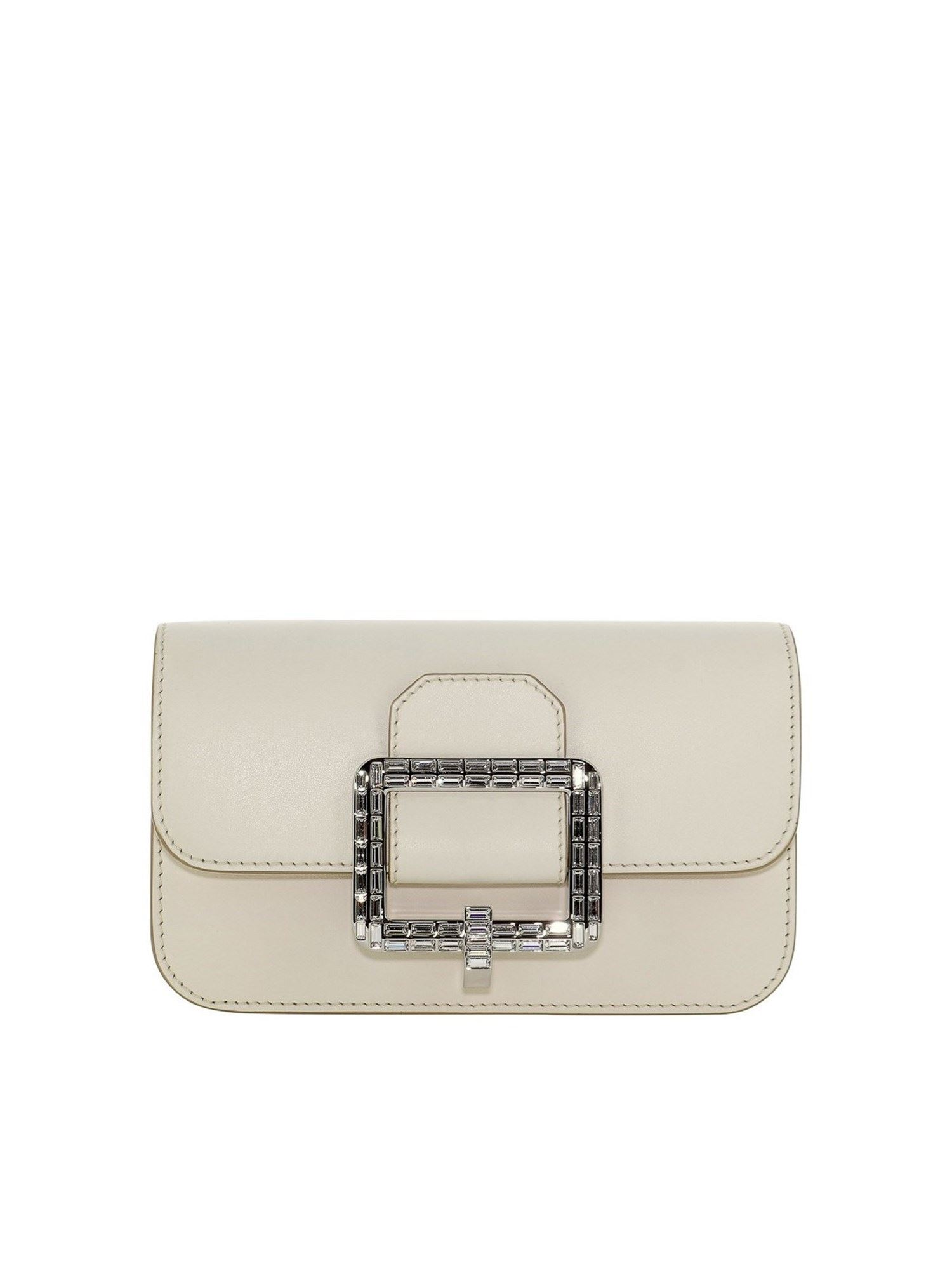 Bally JANELLE BELT BAG IN WHITE