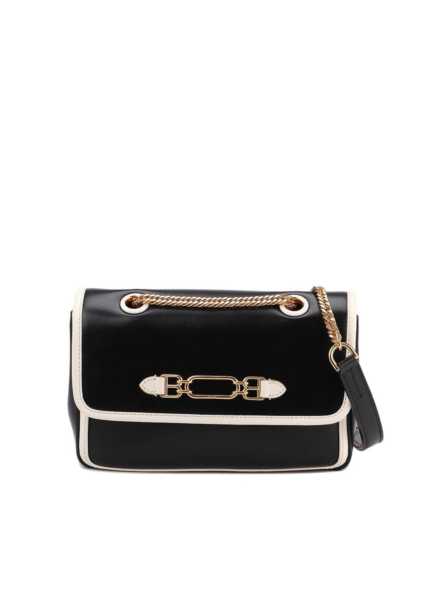 Bally VIVA SMALL SHOULDER BAG IN BLACK