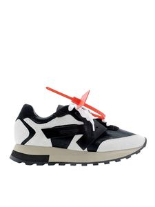 Off-White - Hg Runner sneakers in black and white