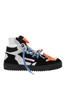 Off-White - Off Court sneakers in black and white