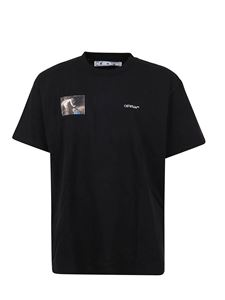 Off-White - Caravaggio Angel over T-shirt in black