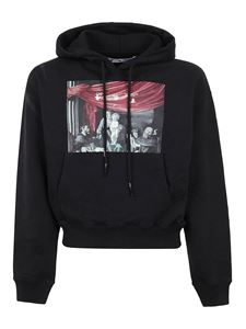 Off-White - Caravaggio print hoodie in black