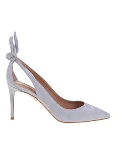 Aquazzura - Deneuve pumps in grey