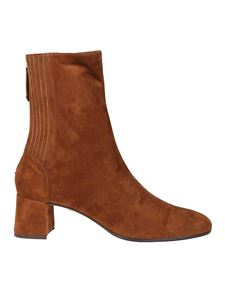 Aquazzura - Saint Honoré Bootie 50 in brown suede