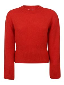 Kenzo - Wool blend crewneck sweater in red