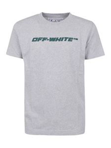Off-White - Trellis Worker T-shirt in grey