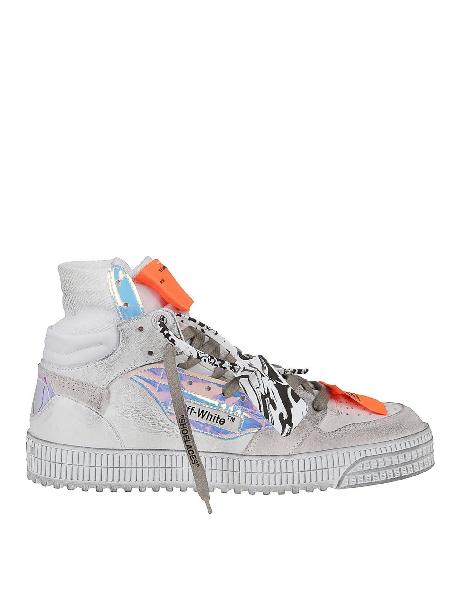 OFF-WHITE OFF COURT SNEAKERS IN WHITE