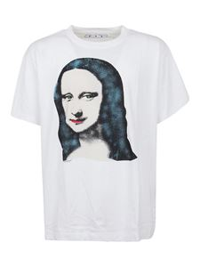 Off-White - Mona Lisa over T-shirt in white