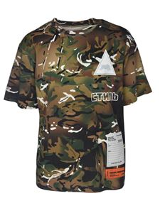Heron Preston - Camouflage short sleeve t-shirt