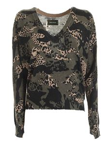 Zadig & Voltaire - Brume CP camouflage cashmere pullover