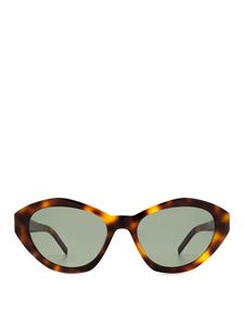 Saint Laurent - SL 250 Slim cat eye sunglasses in brown
