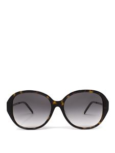 Saint Laurent - SLM60 cat eye sunglasses in brown