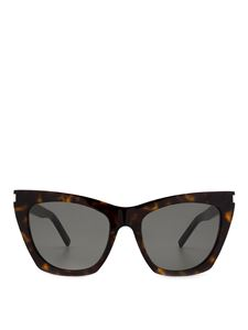 Saint Laurent - New Wave SL 214 Kate havana sunglasses