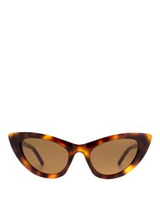 Saint Laurent - New Wave SL 213 Lily havana sunglasses