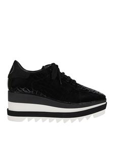 Stella McCartney - Sneak-Elyse sneakers in black