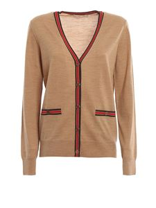 Tory Burch - Madeline color-block wool cardigan