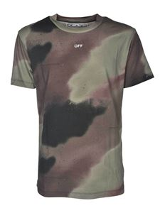 Off-White - Camo Stencil Slim T-shirt