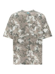 Marcelo Burlon County Of Milan - T-shirt County Camou beige