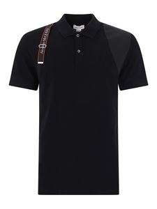 Alexander McQueen - Hayes polo in black
