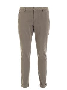 Dondup - Gaubert pants in mud color