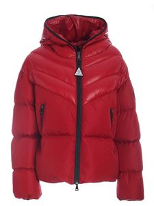 Moncler - Guenioc down jacket featuring branded pockets