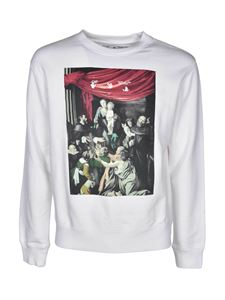 Off-White - Caravaggio Slim sweatshirt in white
