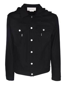 Alexander McQueen - Stretch denim jacket in black