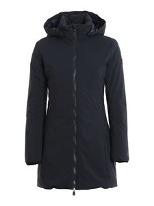Save the duck - Rainy down jacket in blue
