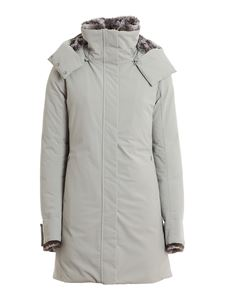 Save the duck - Arctic eco-friendly down jacket in grey