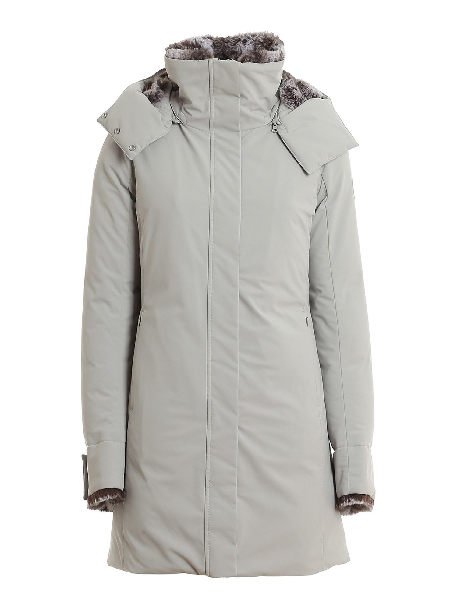 Save The Duck ARCTIC ECO-FRIENDLY DOWN JACKET IN GREY