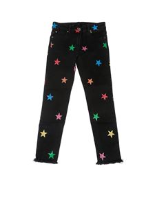 Stella McCartney Kids - Denim Glitter Stars neri