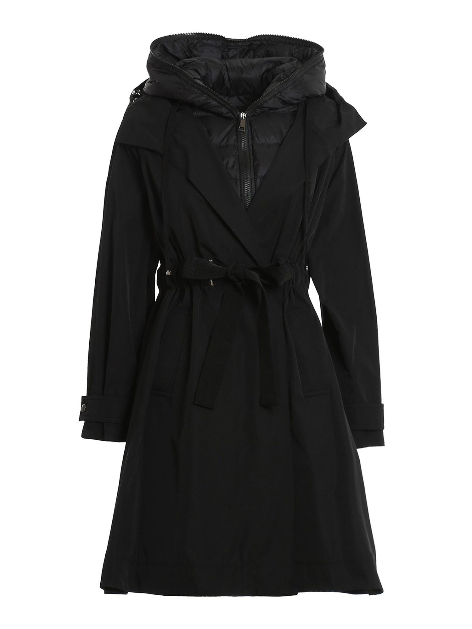 Moncler BATZ COAT IN BLACK